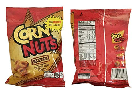 Corn Nuts Variety Pack 4oz Size (Pack of 5) 1 of Each - BBQ, Ranch, Chile Picante, Original and Jalapeno Cheddar