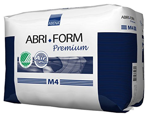 Abena Abri-Form Premium Incontinence Briefs, Medium, M4, 14 Count