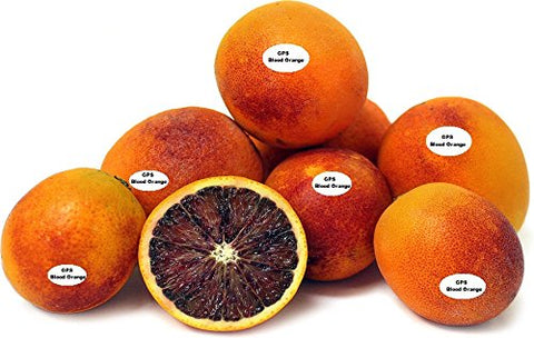 Fresh -GPS- Moro Deep Blood Oranges ( 3 lbs-3.5 lbs )