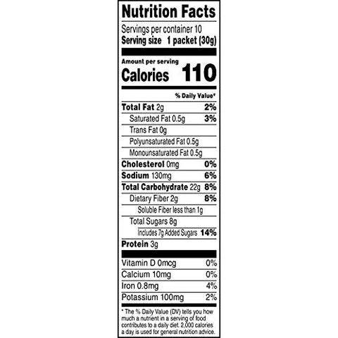 Quaker Instant Oatmeal, Peaches and Cream, 10 ct