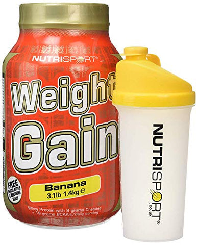 Nutrisport Weight Gain Banana 1400g