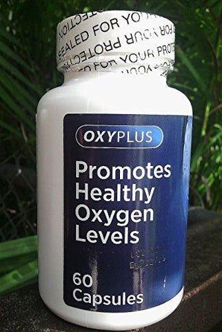 Oxygen +, 60 Caps,healthy Oxigeno, Suplemento Dieta (Promotes Healthy Oxygen Levels) by All Nue by All Nue