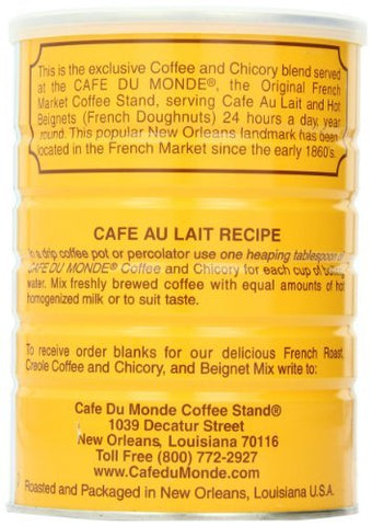 4 X Cafe Du Monde Coffee and Chickory, 15 Ounce