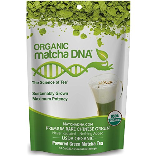 Matcha DNA Certified Organic Matcha Green Tea, 10 Oz.