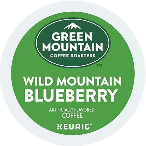 Green Mountain Coffee, Wild Mountain Blueberry, K Cup Single Serve Portion Pack For Keurig K Cup Bre