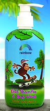 Rainbow Research, Kids Shampoo and Body Wash Goin Coconuts, 12 Fl Oz