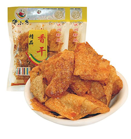 Hunan Changsha Specialty: Sha Xiaozi Spicy Beancurd or Dried Tofu Pack of 5