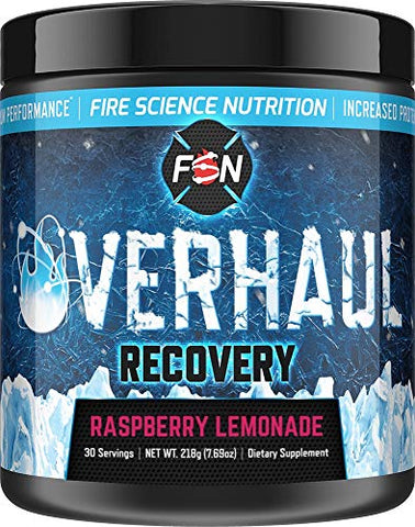 Fire Science Nutrition BCAA's give You Maximum Endurance, Extreme Recovery and Lean Muscle Reservation - Made in The USA - 30 Servings - Raspberry Lemonade