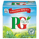 Image of PG Tips Premium Black Tea, Black Tea Pyramid Bags, 40 ct