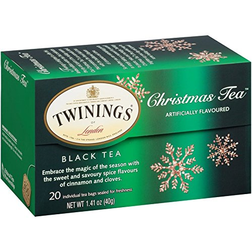 Twinings of London Christmas Black Tea Bags, 20 Count (Pack of 2)