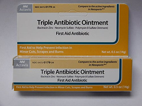 Triple Antibiotic, Tube, 0.5 oz.