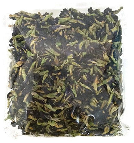 100% Organic Dried Butterfly Pea Flowers Blue Tea Thai Herbals 100 G. From Thailand