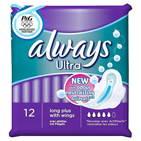 Always Ultra Long Plus with Wings (12) - Pack of 2