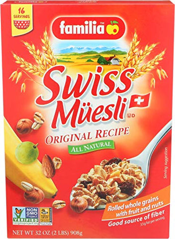 Familia Swiss Muesli Original Recipe, 32 Ounce