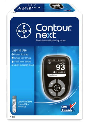 Bayer Contour Next Blood Glucose Monitoring System