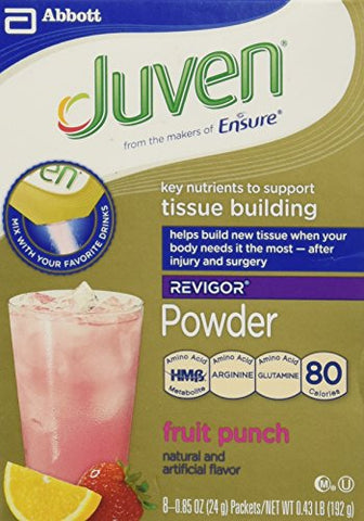 Juven Fruit Punch 8-.85oz pks