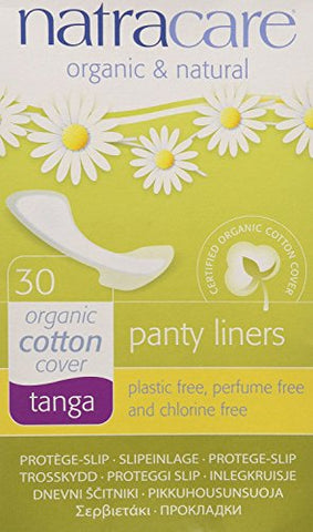 Natracare Thong Panty Liners 12 Pack, 360 Liners Total