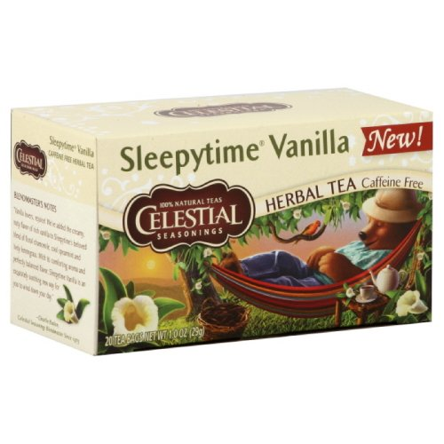 Celestial Seasonings Vanilla, Sleepytime, 1-ounces (Pack of6)