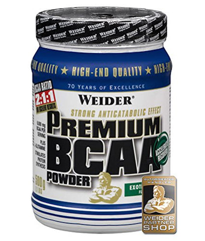 Weider Exotic-Punch 500g Premium BCAA Powder by Weider
