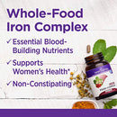Image of New Chapter Iron Supplement, Fermented Iron Complex (Formerly Iron Food Complex) With Organic Whole