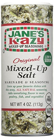 JANE'S, Krazy, Mixed Up Salt, Pack of 12, Size 4 OZ