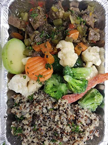 Kosher for Passover Beef Stew with Quinoa and Vegetables Meal
