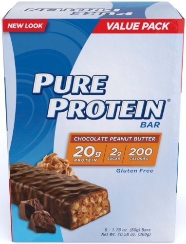 Pure Protein Chocolate Peanut Butter Value Pack 24 Bars by Pure Protein