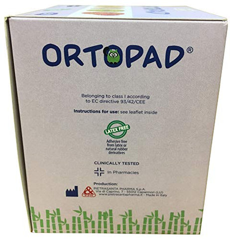 Ortopad Soft Bamboo Girls Eye Patches - Medium Size (50/Box)