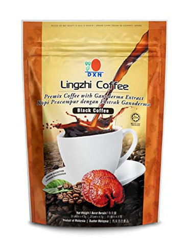 6 Packs Dxn Lingzhi Black Coffee Ganoderma 20 Sachets