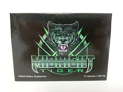 Midnight Tiger V2, Unleash Your Beast, All Natural Male Energy