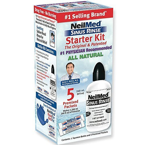 Neilmed Sinus Rinse Starter Kit (5 packets) by NeilMed