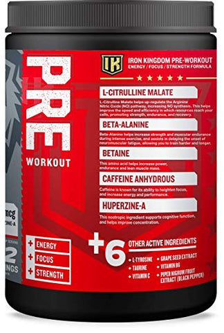 IRON KINGDOM: PRE Workout - Fruit Punch