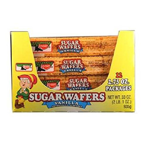 Product Of Keebler, Sugar Wafers Vanilla, Count 12 (2.75 oz) - Cookie & Cracker / Grab Varieties & Flavors