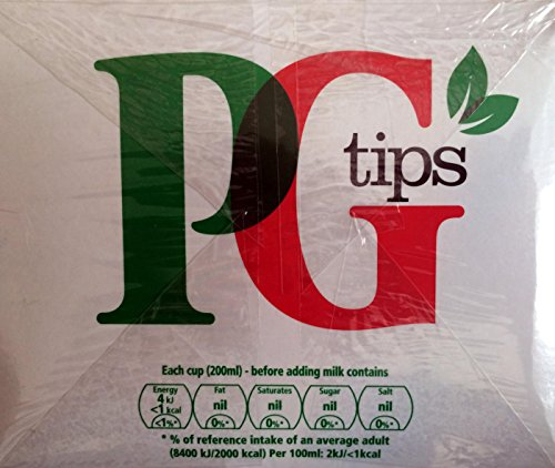 PG tips Original 160 Pyramid Tea bags.