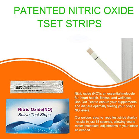 Nitric Oxide Test Strips [25strips]- Nitric Oxide indicator strips work by measuring the nitrites in your mouth to indicate the amount of Nitric Oxide in your body, get results in just 10-15 seconds