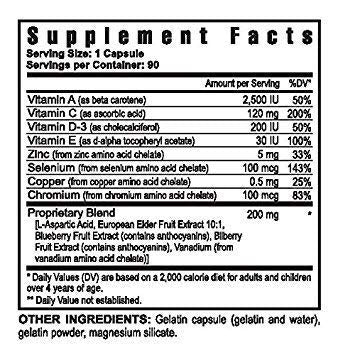 Antioxidant Selenium Plus Vitamins and Trace Minerals - 90 caps