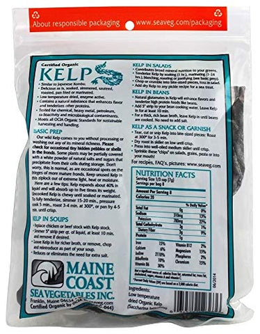 Kelp, Whole Leaf, 2 oz, Main Coast