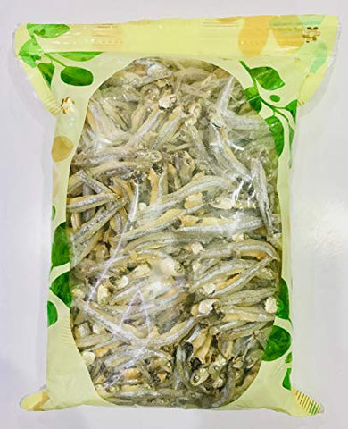 Dried Anchovy with Head ????? (16 oz)