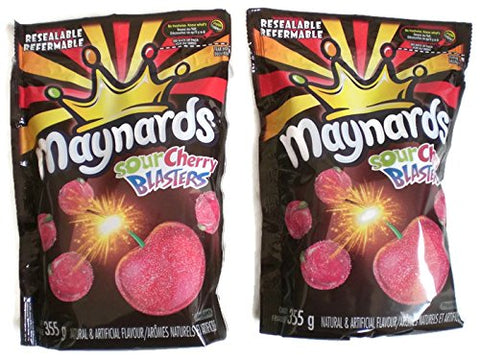 Maynards Sour Cherry Blasters 355g (2 Pack)