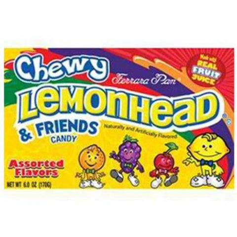 Lemonhead and Friends Assorted Flavors Chewy Candy, 0.8 Ounce -- 288 per case.