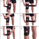 Image of Patella Knee Brace For Arthritis Pain And Support With Side Stabilizers For Meniscus Tear, Women, Me