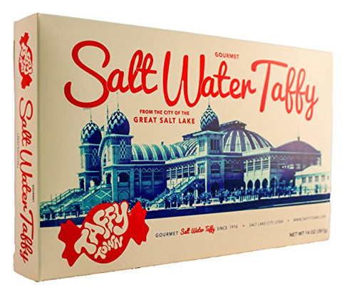 Gift Box 14 Ounces (Assorted) Salt Water Taffy - Gourmet Taffy by Taffy Town