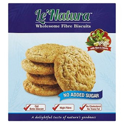 Le' Natura Wholesome Fibre Biscuits 40 Sachets (628MART)