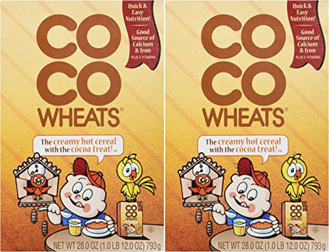 Coco Wheats Hot Cereal (2 Pack)