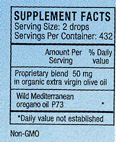 Oreganol Oil, Super Strength P73, 1 Oz