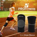 Image of Pro Fitness Bamboo Knee Sleeve For Joint Pain Improved Circulation Compression â?? Effective Support