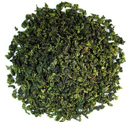 High mountain Oolong Ti Kuan Yin Jade Oolong Tea, A brisk flavour tea that is complemented by a flowery aroma - 4 Oz Bag