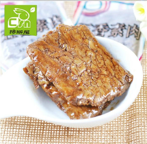 Qyz@ Chinese Delicious Leisure Snacks:mock Meat Bean Curd Cake(500g,) (Five fragrance)