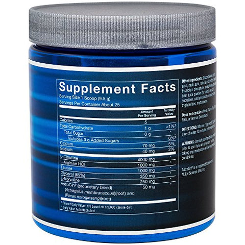 BodyTech Nitrulline Nitric Oxide Potentiator, Pumps Endurance to Help Energize Nourish Working Muscles, Watermelon (8.4 Ounce Powder)