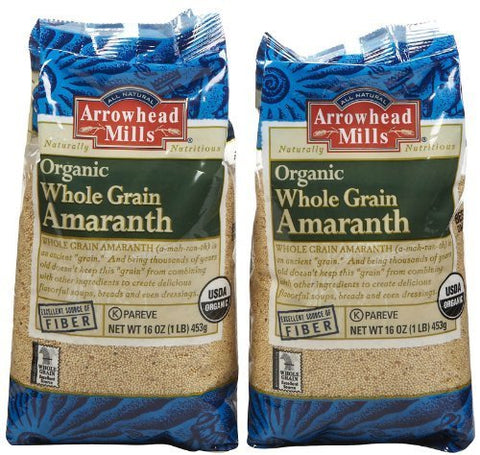 Arrowhead Mills Gluten-Free Organic Whole Grain Amaranth - 2 pk. by Arrowhead Mills
